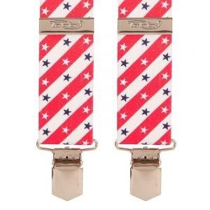 Tobby 35mm Trouser Braces Stars & Stripes