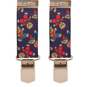 Children's Blue Toy Bear Trouser Braces