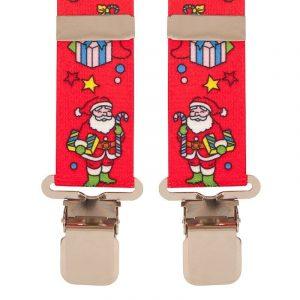 BriMarc Christmas Santa Angel Novelty Trouser Braces 35mm X-Style