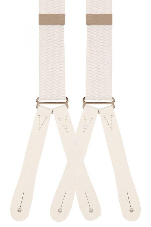 Classic Plain Runner End Trouser Braces