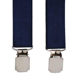 Slim Trouser Braces in Navy