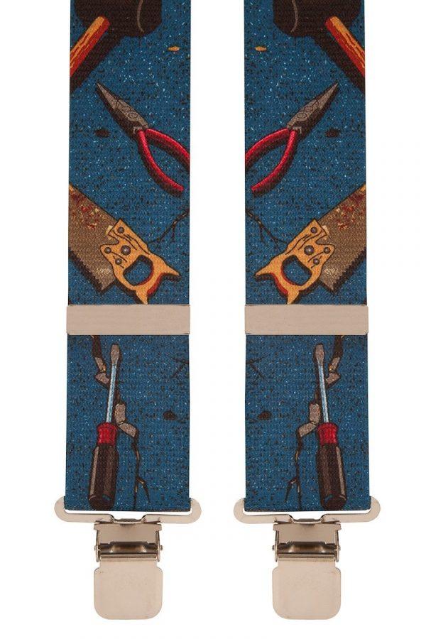 Hand Tools Blue Trouser Braces 50mm X-Style BriMarc Hand Tools Braces