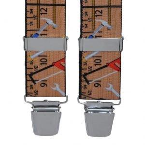 Handyman Design Trouser Braces in Brown