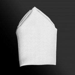 Plain Co-ordinating Handkerchief in White