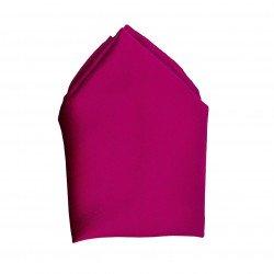 Plain Co-ordinating Handkerchief in Wine