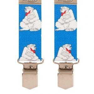 Children's Polar Bear Trouser Braces Children's Braces 5-8 years of age