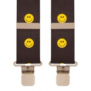 BriMarc Smiley Emoji Faces Trouser Braces