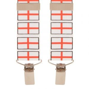 England / St Georges Flag Trouser Braces 35mm Wide