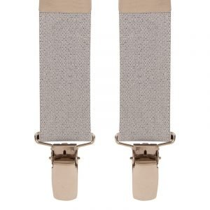 Children's Light Grey Trouser Braces 1-2 Yrs, 25mm Wide Straps, Max Length 53cm