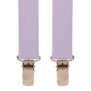 Children's Trouser Braces 3-5 Yrs 25mm Light Purple