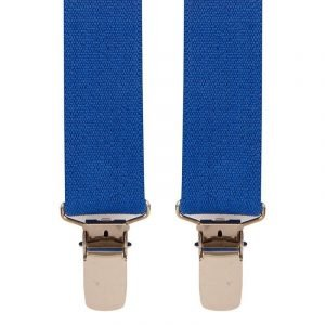 Children's Trouser Braces 3-5 Yrs 25mm Royal Blue.