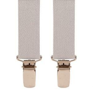 Children's Trouser Braces 3-5 Yrs 25mm Light Grey