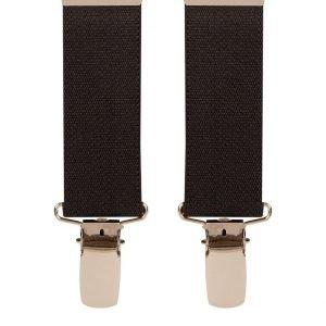 Children's Trouser Braces 3-5 Yrs 25mm Black
