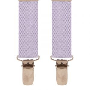 Children's Trouser Braces Light Purple 5-8 Yrs Top quality classic X-Style Children's braces in a Light Purple design with strong metal clips.
