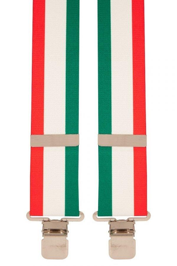 BriMarc Italian Flag Braces 50mm X-Style Italian Flag designed braces from BriMarc