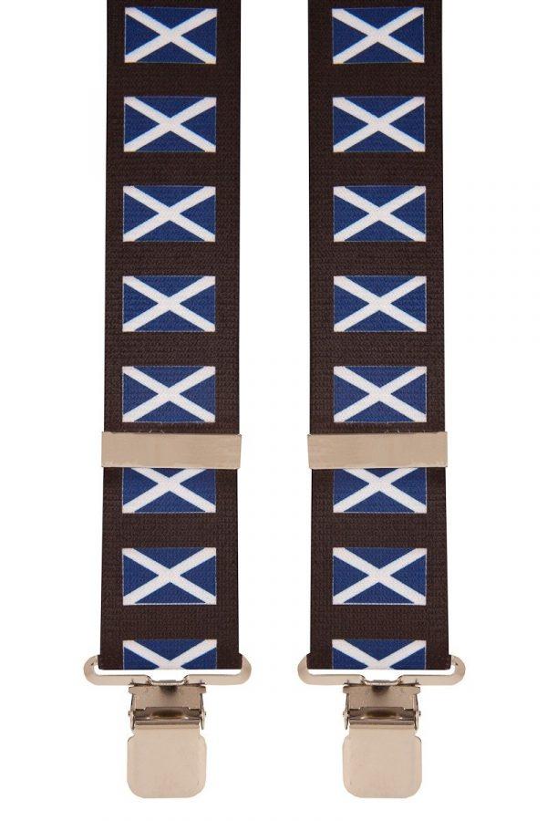 BriMarc Scottish Flag Braces 50mm X-Style