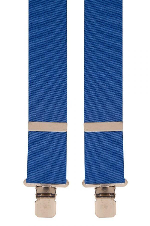 BriMarc Royal Blue Braces. 50mm X-Style