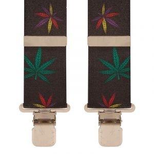 BriMarc Marijuana Leaf Braces. 50mm X-Style