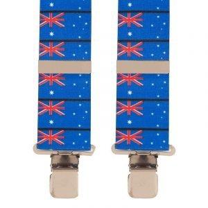 BriMarc Australian Flag Braces 50mm X-Style