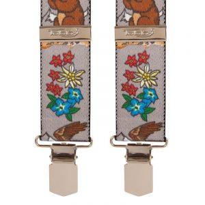 Alpine Chipmunk Trouser Braces Tobby 35mm X Braces