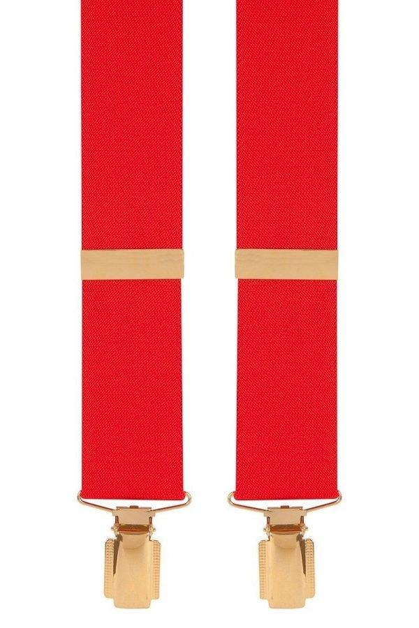 Traditional Plain Trouser Braces 35mm Solid Colour Trouser Braces