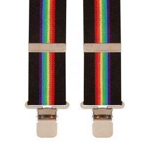 BriMarc Black Rainbow Braces