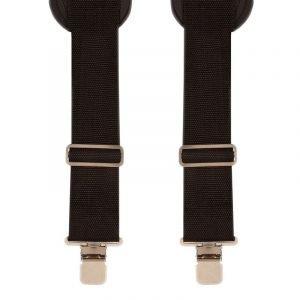 Heavy Duty Shoulder Pad Comfort Trouser Braces in Black