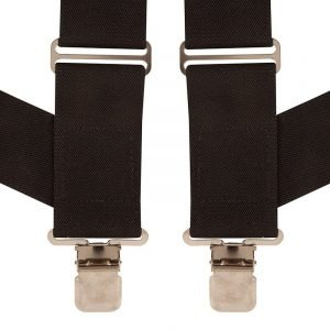 BriMarc Side Clip Black Braces Wide 50mm Straps