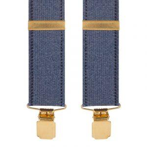 Jute Effect Y-Style Trouser Braces 35mm straps