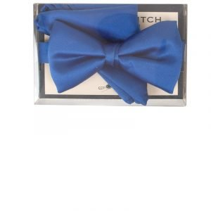 Satin Pre-Tied Co-ordinating Bow Tie in Royal Blue