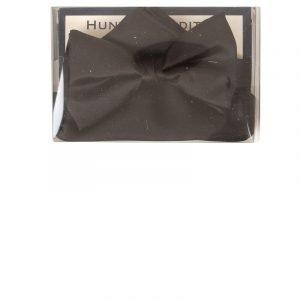 Satin Pre-Tied Co-ordinating Bow Tie in Black