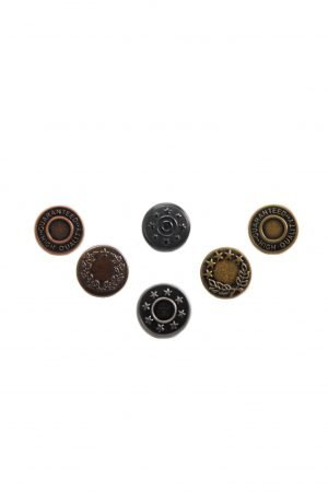 Instant Buttons for Leather End Braces