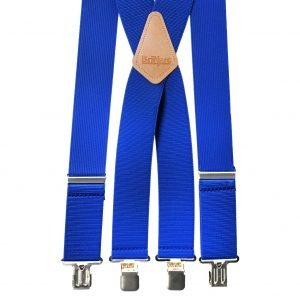 Terry Casual Trouser Braces in Royal Blue