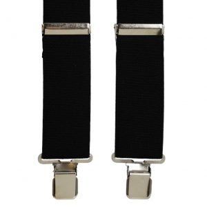 Terry Casual Trouser Braces in Black